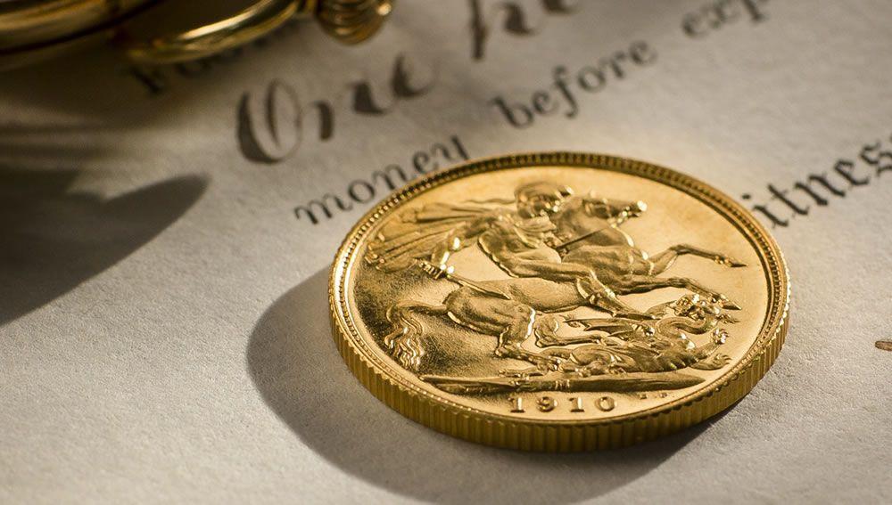 1910 Proof Sovereign Melbourne Mint