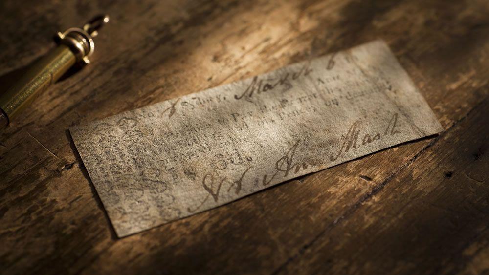 Ann Mash Promissory Note Circa 1812