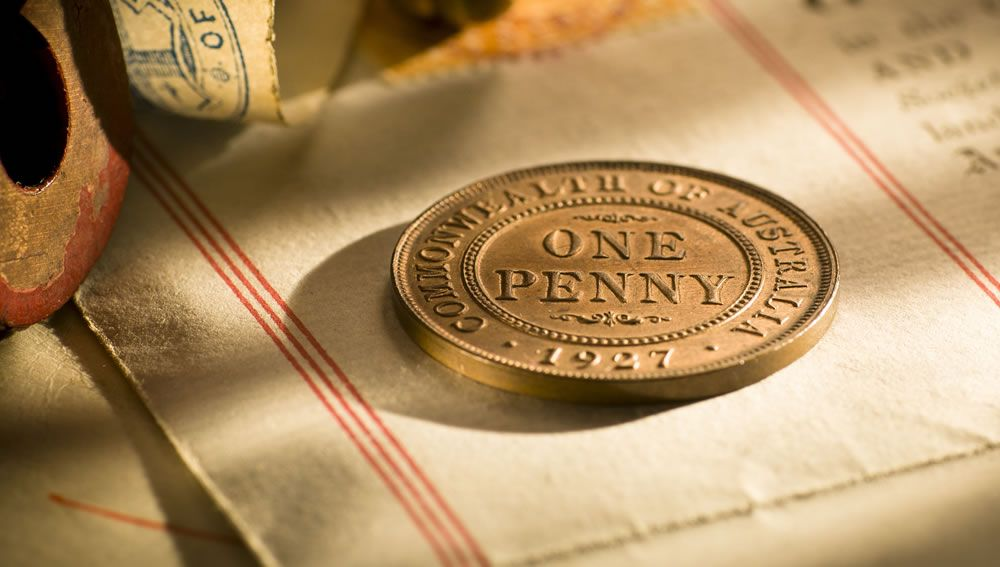 1927 Proof Penny
