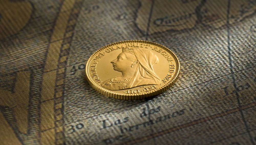 1897 Proof Half Sovereign Melbourne Mint