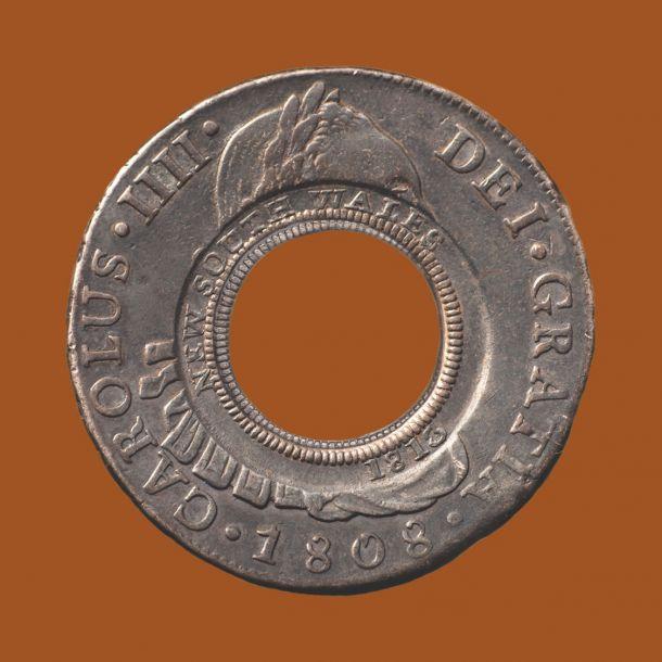 1808-Lima-Mint-Holey-Dollar-gEF-Obv-TECH-31683-September-2021