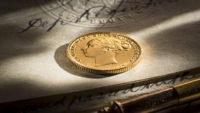 1872 Sovereign Melbourne Mint