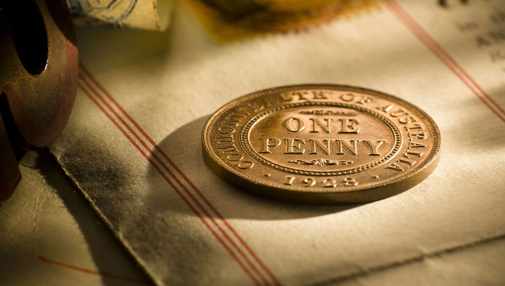 1928 Proof Penny