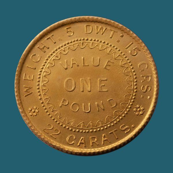 1852-Adelaide-Pound-Gem-2-Unc-Rev-TECH-40908-October-2021