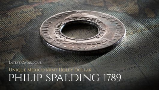 The Holey Dollars of the late Philip Spalding