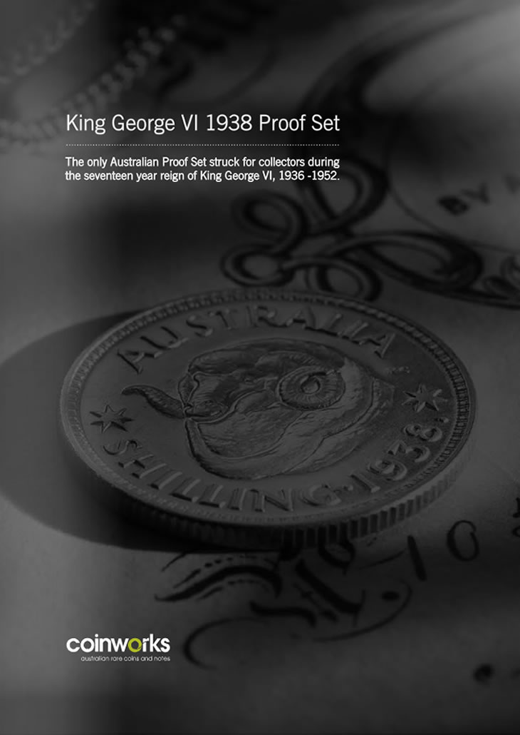 King George VI 1938 Proof