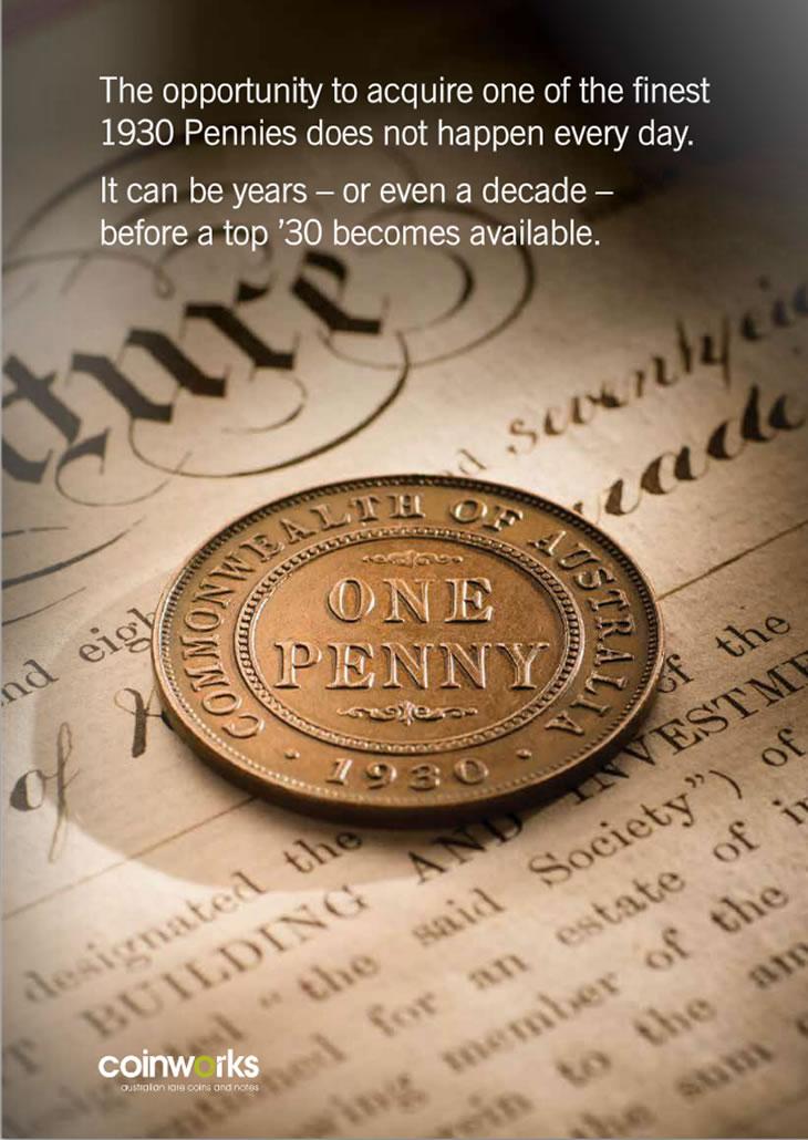1930 Penny VF